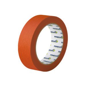 Yellow masking tape for painting walls