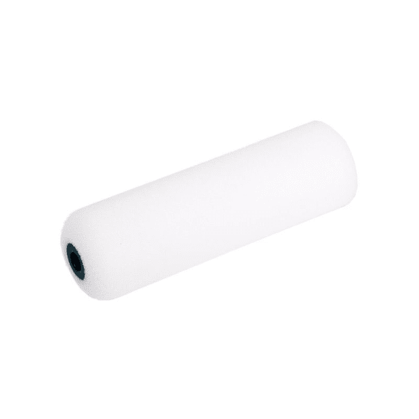 Foam roller super fine for synthetic paints – Smooth surface – 10cm rounded both sides